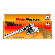 Texas Rapido 8-Schuss Pistole, Western 214mm, Box