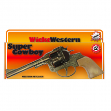 Super Cowboy 12-shot pistol, Western 230mm, box