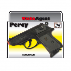 Percy 25-Schuss Pistole, Agent 158mm, Box