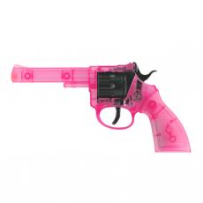 Rocky 100-Schuss Pistole, PINK 192mm, Blisterkarte