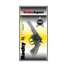 Rocky 100-Schuss Pistole, Western 192mm, Blisterkarte