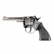 Rodeo 100-shot pistol chrome, Western 198mm, blister card