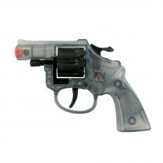 Olly 8-shot pistol, Agent 127mm, blister card