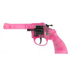 Jerry 8-Schuss Pistole, PINK 192mm, Blisterkarte