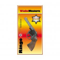 Ringo 8-Schuss Pistole, Special Action 198mm, Blisterkarte