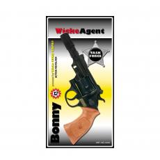 Bonny 12-Schuss Pistole, Agent 238mm, Blisterkarte
