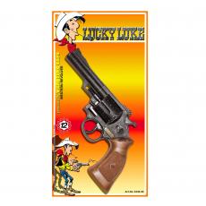 """Denver 12-Schuss Pistole, """"Lucky Luke"""", 219mm, Blisterkarte"""