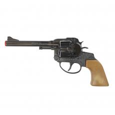 Super Cowboy 12-Schuss Pistole, Western 230mm, Blisterkarte