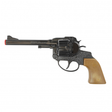 Super Cowboy 12-shot pistol, Western 230mm, blister card