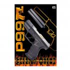 Special Agent P99 25-shot pistol, muffler, blister card