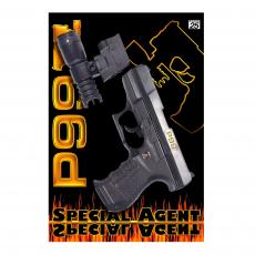 Special Agent P99 25-Schuss Pistole, mit Lampe, Karte