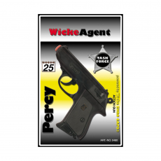 Percy 25-shot pistol, Agent 158mm, blister card