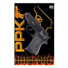Special Agent PPK 25-shot pistol, blister card