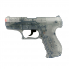 Special Agent P99 25-shot pistol, blister card