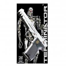 Terminator 25-shot pistol, blister card