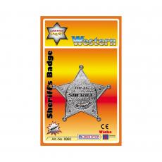 Sheriff-Star, blister card