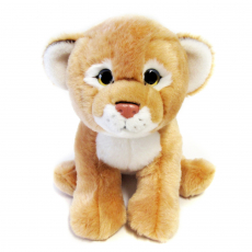 Löwin sitzend 25cm