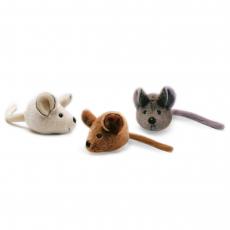 Mouse 12cm, 3-ass.