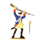Musketier kämpfend