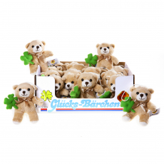 Good Luck Bear 12cm, 24pcs Display