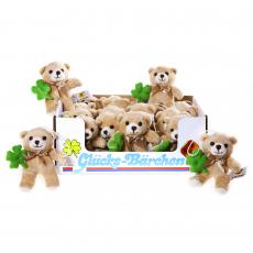 Good Luck Bear 12cm, 24pcs Display