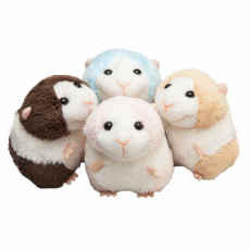 Hamster 9cm, 2-farbig sort.