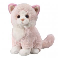 Katze rosa 18cm, sitzend
