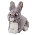 Bunny grey 18cm, lying