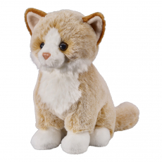 Cat fawn 25cm, sitting