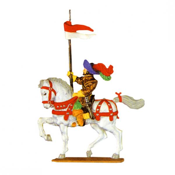 Reiter mit Lanzenfahne