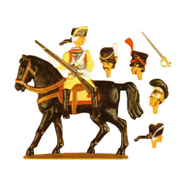 Kürassiere zu Pferd