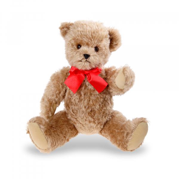 Mohair-Scheibenbär mit Stimme 45cm