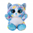 Lashy Cat blue/multicolored 15cm
