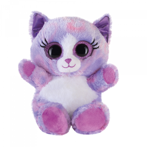 Lashy Katze lila 15cm
