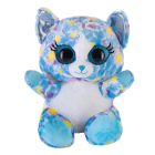 Lashy Katze blau/bunt 20cm