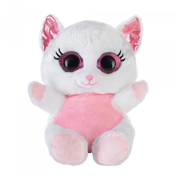Lashy Katze weiß 20cm