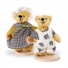"""Mohair-Bear """"Girl"""" 7cm"""