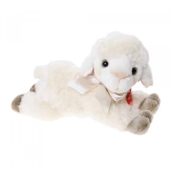 Lamb 20cm lying, curly