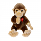Baby Monkey with thumb in the mouth 35cm