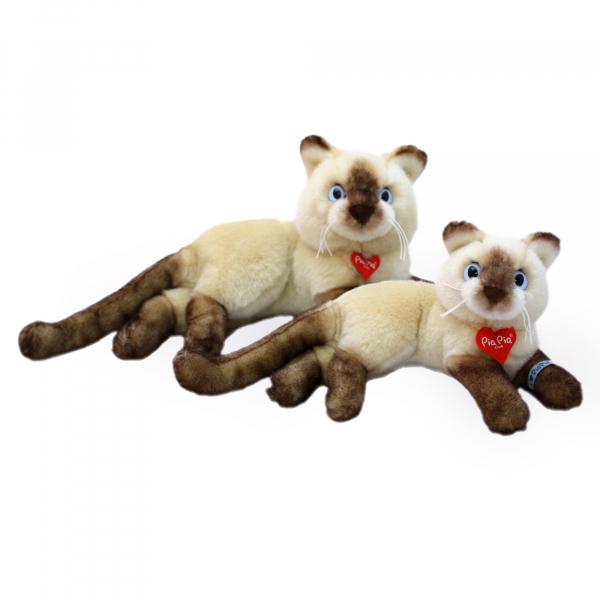 Siam Cat 30cm, lying