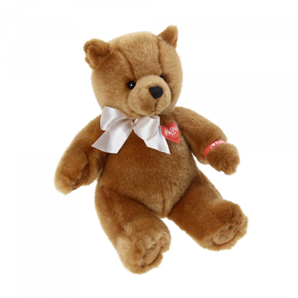 Cute Bear brown 25cm, sitting