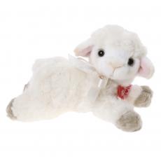 Lamb 15cm lying, curly