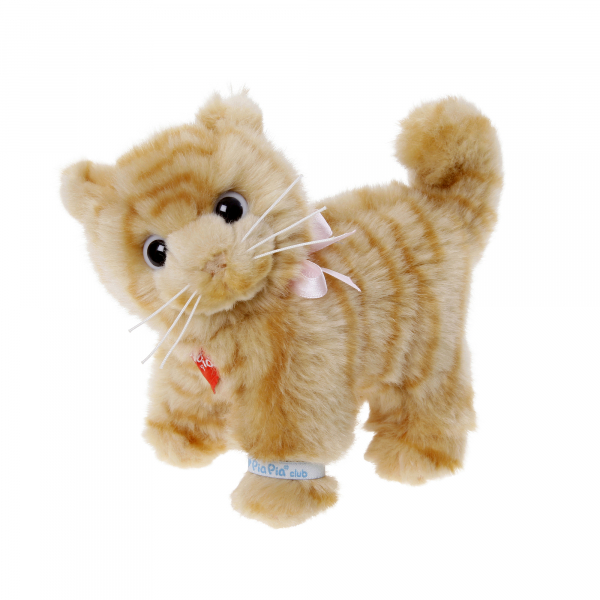 Domestic Cat brown 15cm, standing
