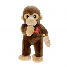 Baby Monkey with thumb in the mouth 22cm