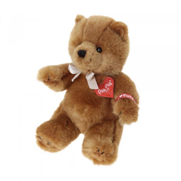 Cute Bear brown 17cm, sitting