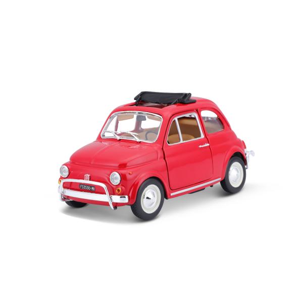 red FIAT 500 L Bburago 1:24