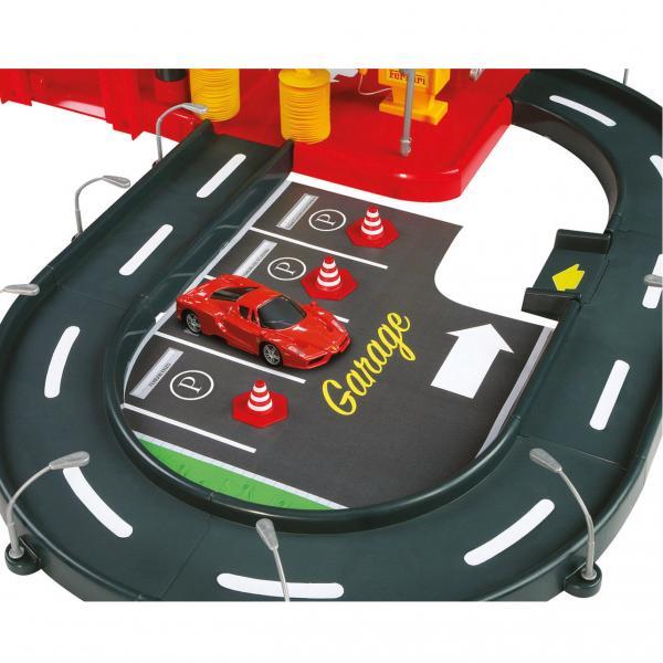 "Ferrari R&P 1:43 ""ParkingGarage"", inkl. 2 Fahrzeugen, Tragebox"