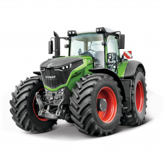 10cm Farm tractor with motorized moving parts, sort., WB