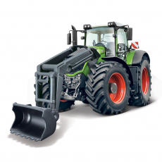 10cm Farm tractor with front loader, with motorized moving parts, WB