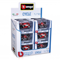 1:18 Cycle sort., WB, 18er Display